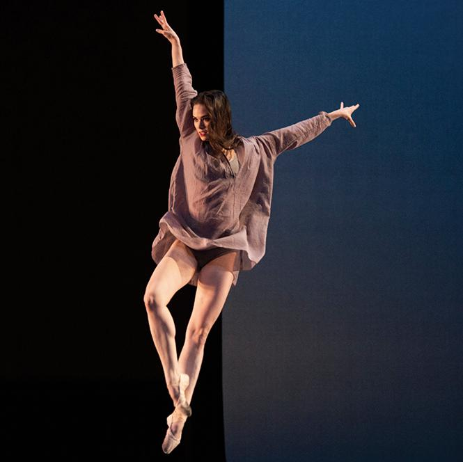 "San Francisco Ballet dancer Elizabeth Powell in Benjamin Millepied's ""Appassionata."" Photo: Erik Tomasson"