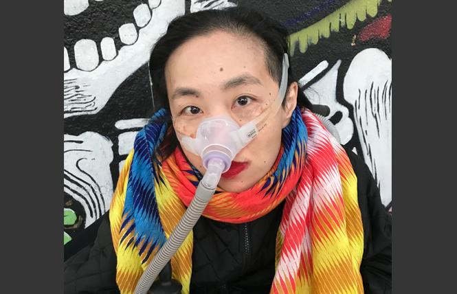 Disability activist Alice Wong. Photo: Courtesy Disability Visibility Project