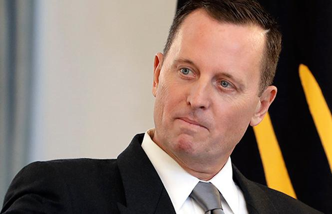 Gay U.S. ambassador to Germany Richard Grenell is reportedly on President Donald Trump's short list for U.S. ambassador to the United Nations. Photo: Courtesy AP