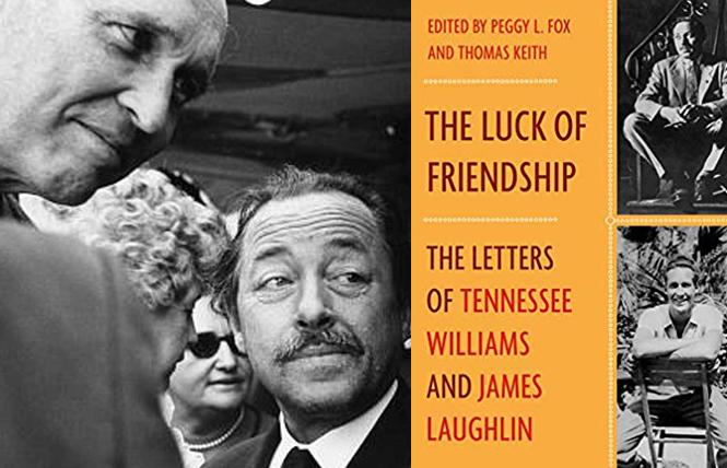 Pen pals James Laughlin and Tennessee Williams. Photo: Fred W. McDarrah/Getty Images