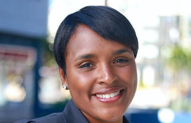 California Democratic Party chair candidate Kimberly Ellis