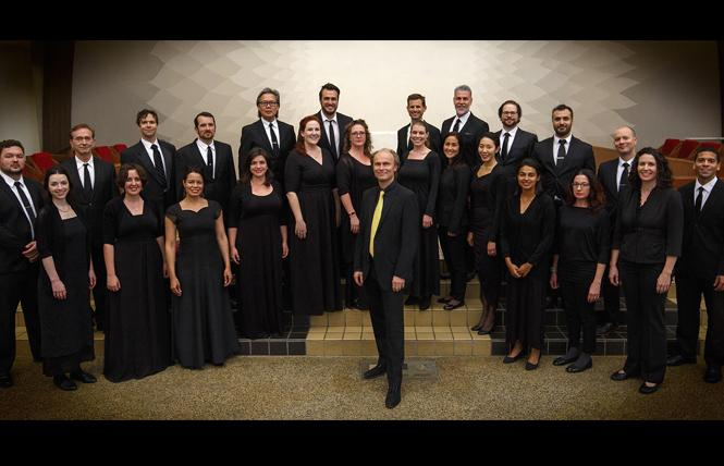 Cappella SF with founder and conductor Ragnar Bohlin. Photo: Courtesy Cappella SF