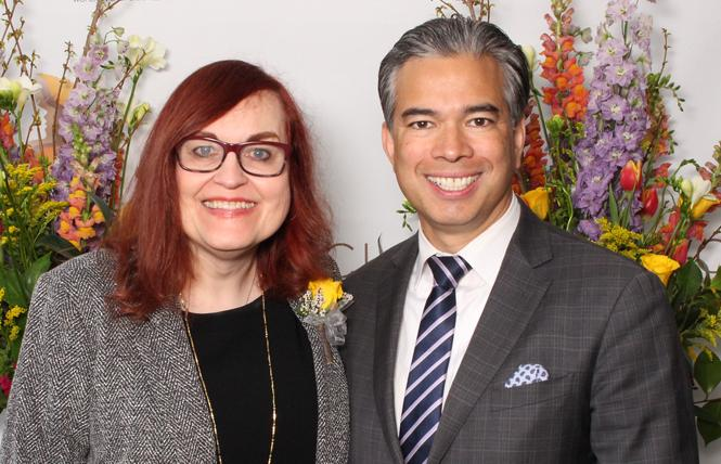 "Alameda County Superior Court Judge Victoria Kolakowski was honored by Assemblyman Rob Bonta during Monday's ""Woman of the Year"" ceremony in Sacramento. Photo: Giggle & Riot Photos"
