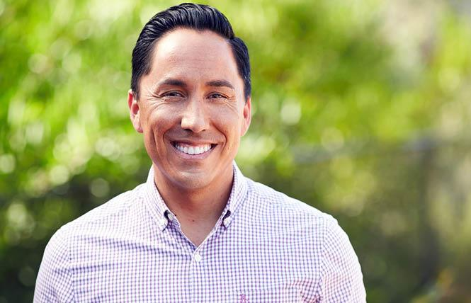 Gay San Diego mayoral candidate Todd Gloria.