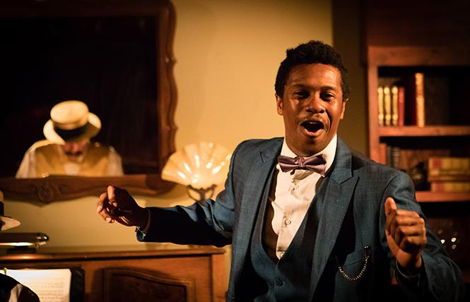 "Stephen Wilson as Roland in ""The Speakeasy."" Photo: Peter Liu"
