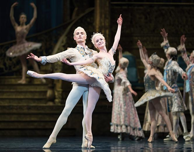 "Sasha De Sola and Carlo Di Lanno in Helgi Tomasson's ""The Sleeping Beauty."" Photo: Erik Tomasson"