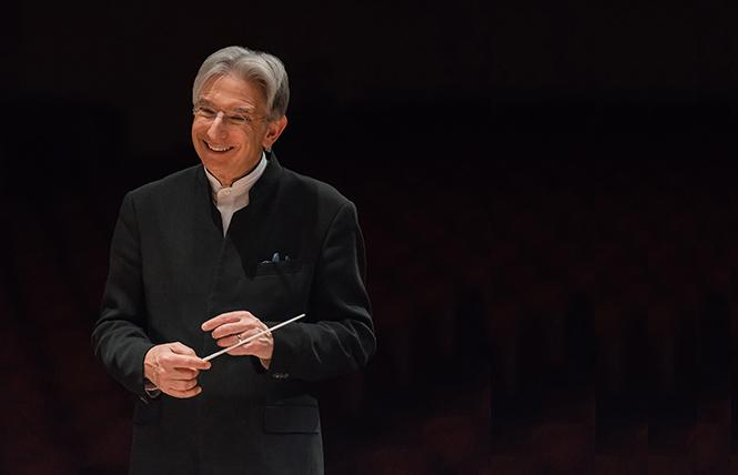 San Francisco Symphony music director Michael Tilson Thomas. Photo: Brandon Patoc