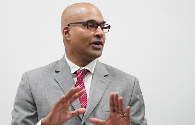 Incoming San Francisco Public Defender Manohar Raju. Photo: Courtesy SF Public Defender's office