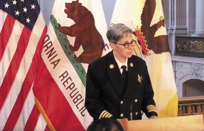 Incoming San Francisco Fire Chief Jeanine Nicholson