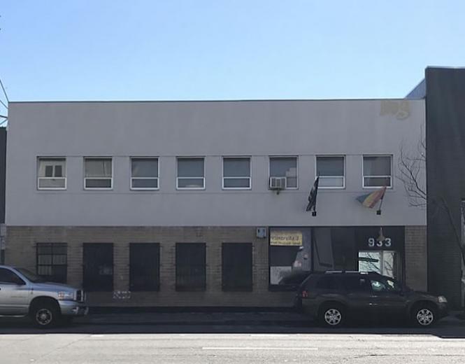 Blow Buddies exterior at 933 Harrison Street.