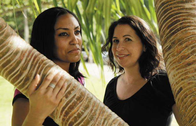 Taeko Bufford, left, and Diane Cervelli were turned away by Honolulu's Aloha Bed & Breakfast in 2007. Photo: Courtesy AP