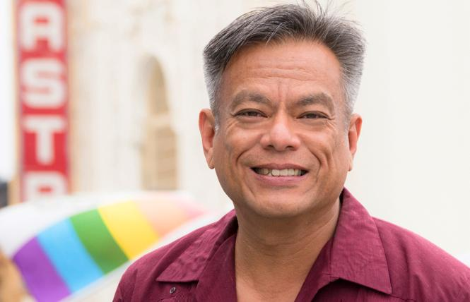 Pride parade grand marshal Vince Crisostomo. Photo: Courtesy SF Pride