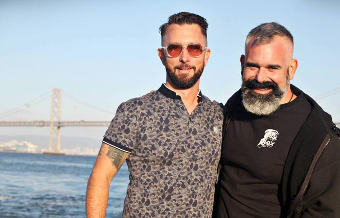 Chris Hastings, left, and Aaron Wessels co-founded Disco Coalition to help build community and raise money for LGBTQ nonprofits. Photo: Courtesy Chris Hastings