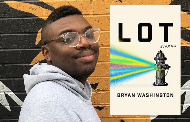 """Lot"" author Bryan Washington. Photo: David Gracia"