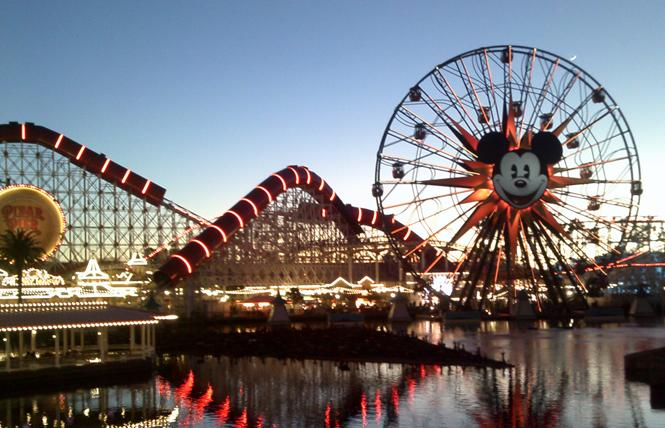 Pixar Pier at the Disney California Adventure Park features a Ferris wheel. Photo: Ed Walsh