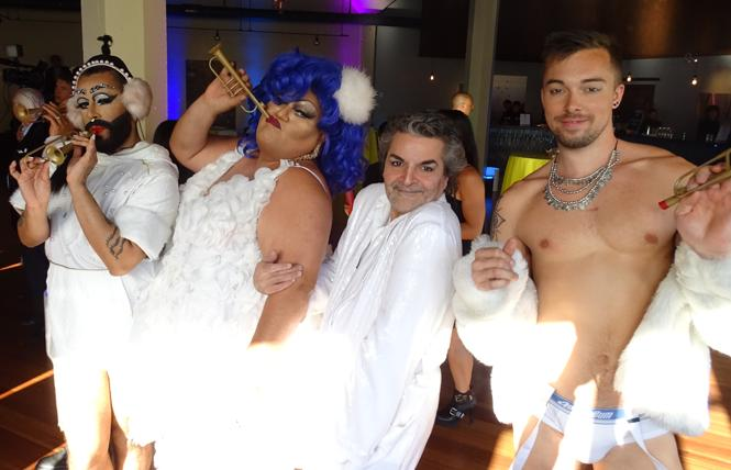 Attendees enjoyed themselves at a SF LGBT Community Center Soiree fundraiser.