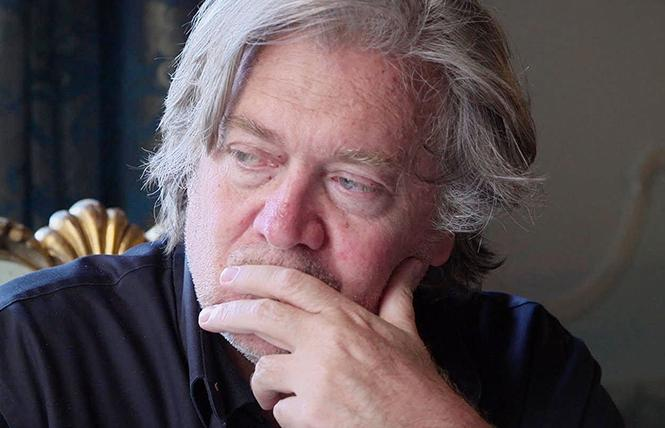 "Right-wing guru Steve Bannon is the subject of ""The Brink."" Photo: Magnolia Pictures"
