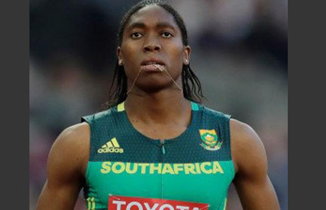 Intersex runner Caster Semenya