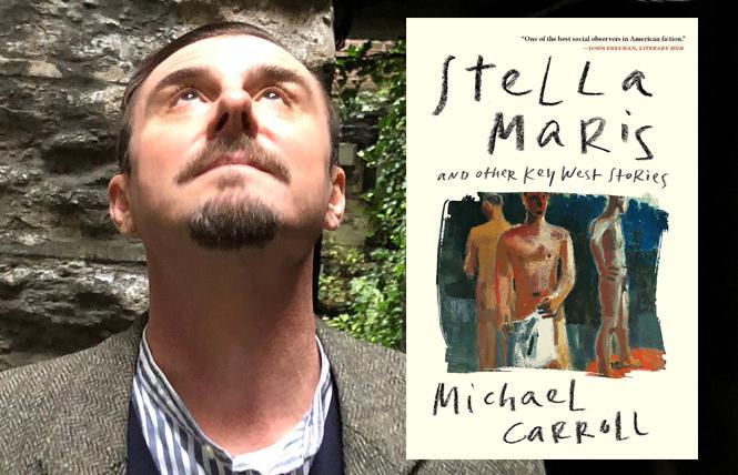 """Stella Maris"" author Michael Carroll. Photo: Jeff Bond"