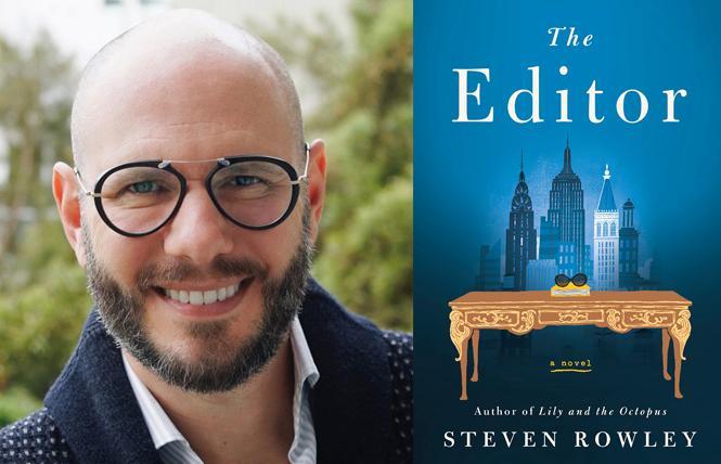 """The Editor"" author Steven Rowley. Photo: Courtesy Putnam"