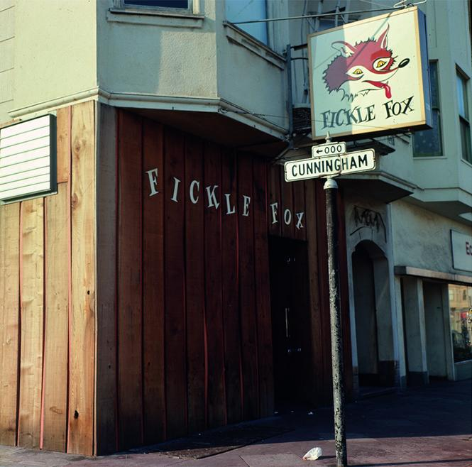 The Fickle Fox, 1971. photo: Henry Leleu. Courtesy GLBT Historical Society