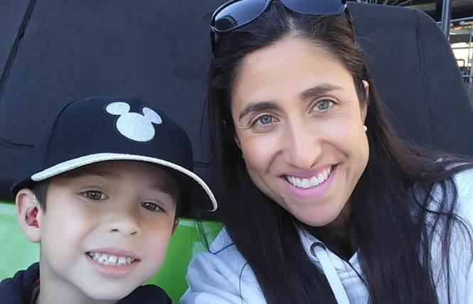 Renee Ho, right, shown with her son, Kawika, hopes to raise funds on Give OUT Day for a Welcoming Schools program to help trans students. Photo: Courtesy Renee Ho