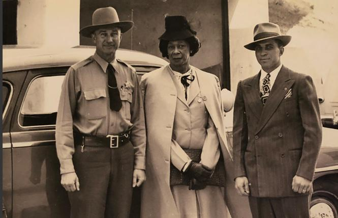"This image of Lucy Hicks Anderson, center, by an unknown photographer is part of the ""Queer California: Untold Stories"" exhibit now at the Oakland Museum of California. Photo: Courtesy the Museum of Ventura County Research Library"