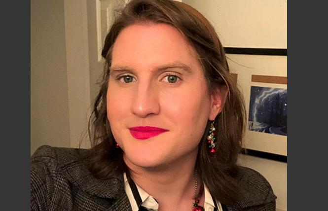 Human Rights Campaign spokeswoman Charlotte Clymer, a trans woman and former service member, predicted the trans military ban would not stand in the long run. Photo: Courtesy Twitter