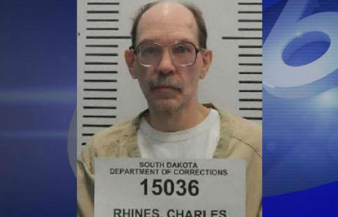 Charles Rhines. Photo: Courtesy South Dakota Dept. of Corrections