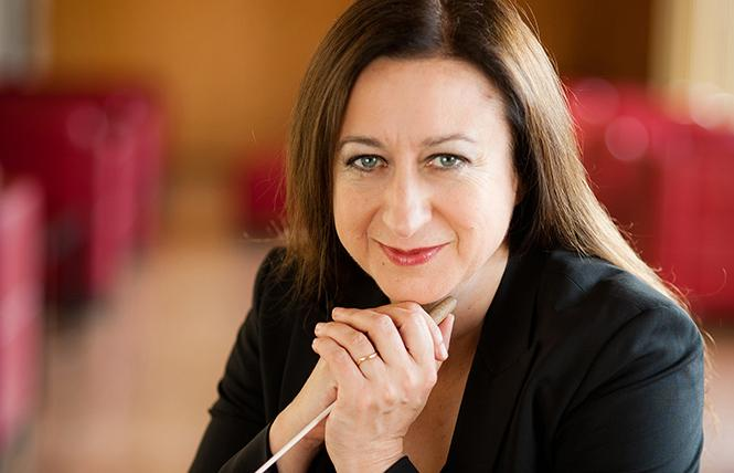 Guest conductor Simone Young. Photo: Berthold Fabricius