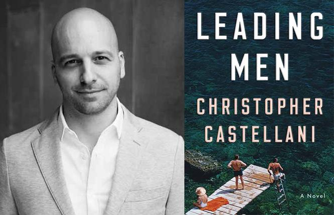 """Leading Men"" author Christopher Castellani. Photo: Michael Joseph"