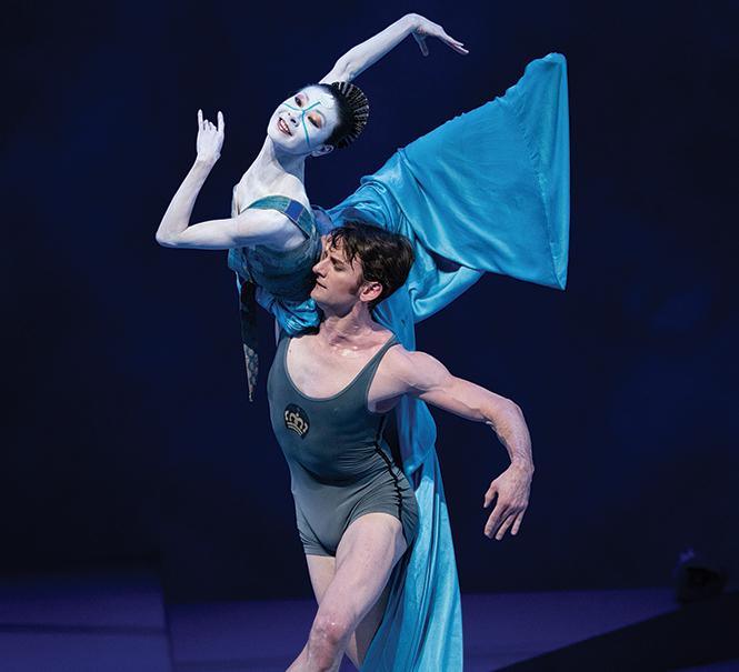 "Yuan Yuan Tan and Aaron Robison in John Neumeier's ""The Little Mermaid."" Photo: Erik Tomasson"