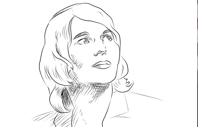 Chelsea Manning. Illustration: Christine Smith