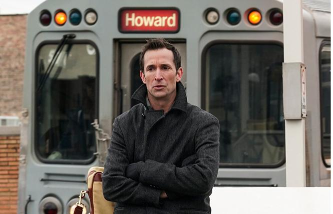 "Noah Wyle as Daniel Calder on ""The Red Line."" Photo: CBS-TV"