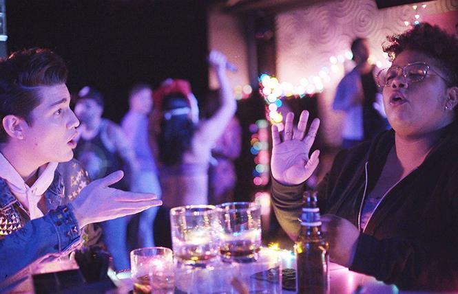 "Scene from director Nick Neon's club-kid spoof ""Zero One."" Photo: Courtesy CAAMFest"