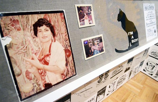 "Jose Julio Sarria, a pioneer in California's queer history, is highlighted in the Oakland Museum of California's exhibit ""Queer California: Untold Stories."" Photo: Rick Gerharter"