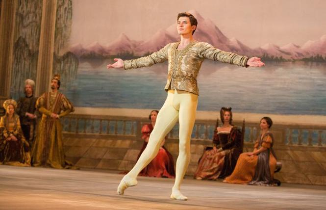 "Oleg Ivenko dances as Rudolf Nureyev in director Ralph Fiennes' ""The White Crow."" Photo: Sony Pictures Classics"