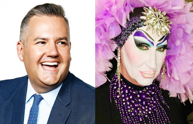 Ross Mathews and Sister Roma