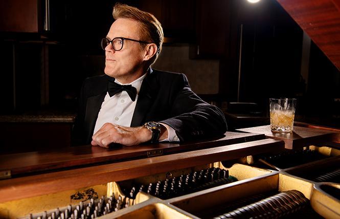 Tom Reardon at the piano