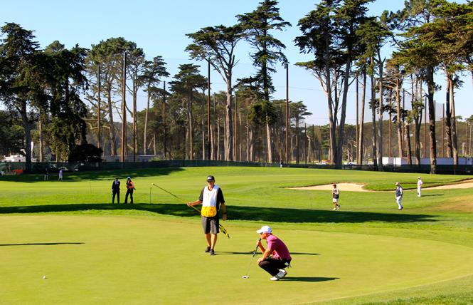 SF Pride is holding an inaugural golf tournament and fundraiser at TPC Harding Park. Photo: Courtesy SF Rec and Park