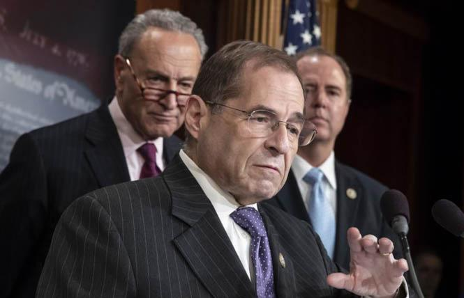 House Judiciary Chair Jerrold Nadler praised Friday's vote by the House of Representatives approving the Equality Act. Photo: Courtesy AP