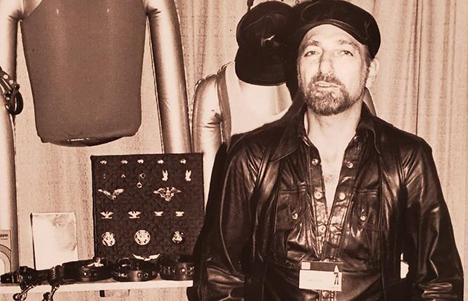 Alan Selby at the Mr. S store on 7th Street, circa 1980. photo: Alexander V. Areno, courtesy of Gayle Rubin