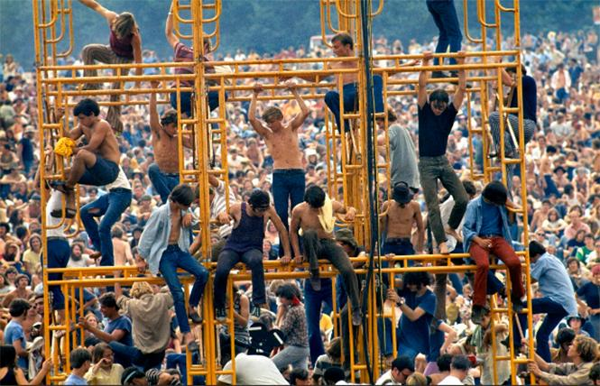 """Scene from director Barak Goodman's """"Woodstock: Three Days That Defined a Generation."""" Photo: PBS Distribution"""