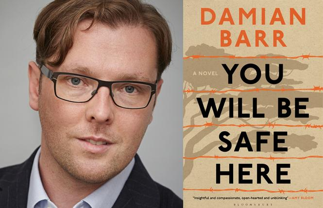 """""""You Will Be Safe Here"""" author Damian Barr. Photo: Jonathan Ring"""