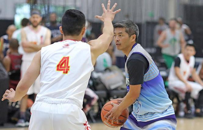 The National Gay Basketball Association is hoping to have a world championship meet next year. Photo: Courtesy NGBA