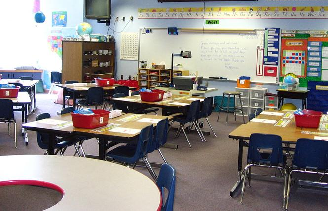 More California public school districts must respond to Equality California's next school survey. Photo: Courtesy Wikipedia