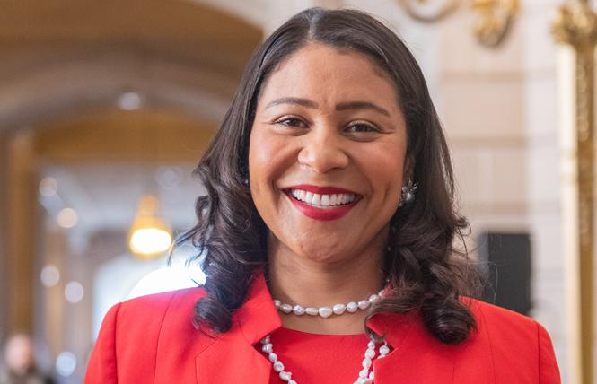 Mayor London Breed. Photo: Jane Philomen Cleland