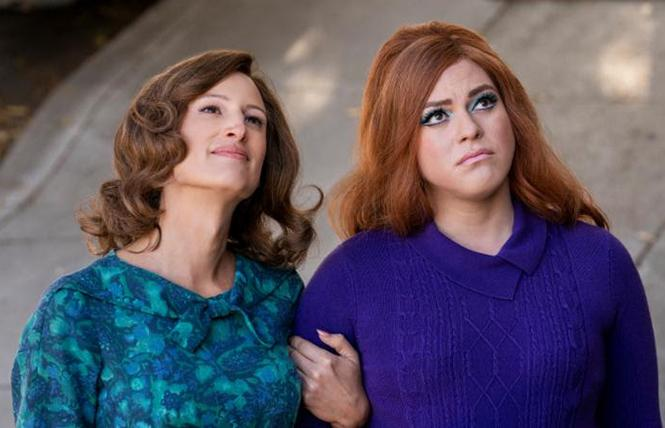 "Transgender actresses Jen Richards and Daniela Vega are part of the cast of ""Armistead Maupin's Tales of the City,"" a new version launching on Netflix this week. Photo: Netflix"