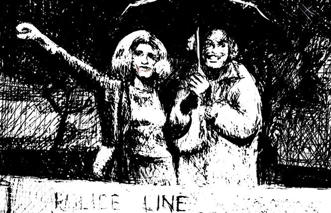 Sylvia Rivera and Marsha P. Johnson. Illustration: Christine Smith