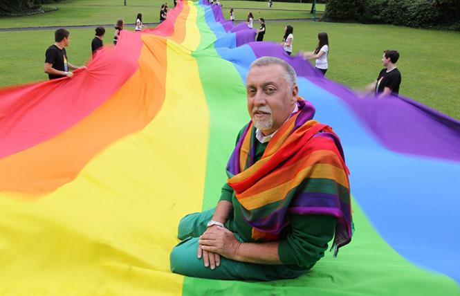 Rainbow Warrior: The Memoirs of Gilbert Baker @ SF Main Library Tue 11